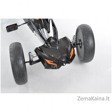 Velomobilis (Velomobile) Go-Kart 1504 Black 10