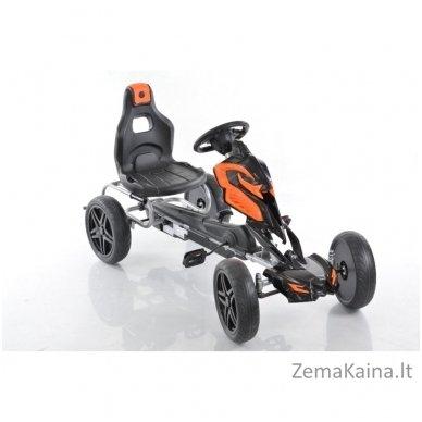 Velomobilis (Velomobile) Go-Kart 1504 Black 2