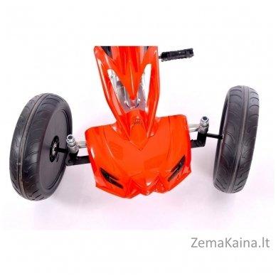 Velomobilis (Velomobile) Go-Kart 1504 Red 4