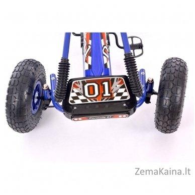 Velomobilis (Velomobile) Go-Kart A-15 Blue 3