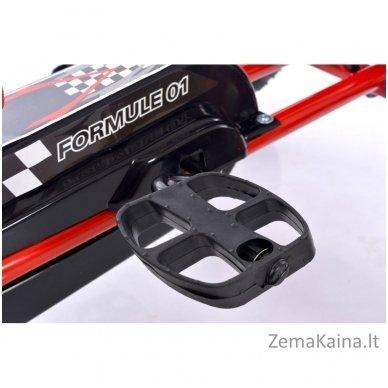 Velomobilis (Velomobile) Go-Kart A-15 Red 7