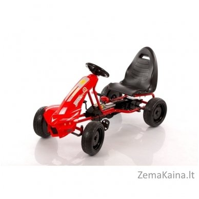 Velomobilis (Velomobile) Go-Kart A-18 Red (5-12 years)