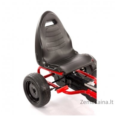 Velomobilis (Velomobile) Go-Kart A-18 Red (5-12 years) 7