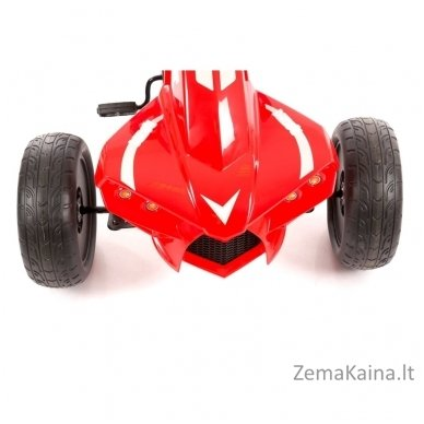 Velomobilis (Velomobile) Go-Kart A-18 Red (5-12 years) 6