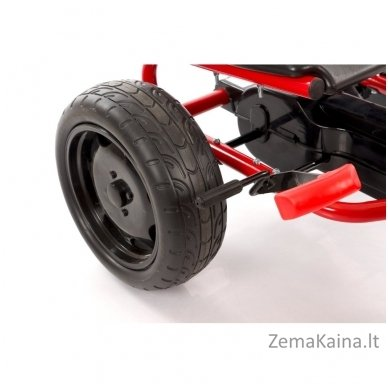 Velomobilis (Velomobile) Go-Kart A-18 Red (5-12 years) 9