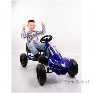 Velomobilis (Velomobile) Go-Kart A-18 Blue (5-12 years) 6