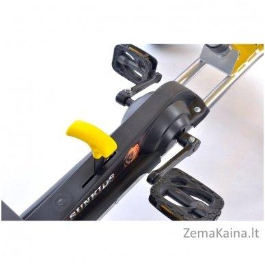 Velomobilis (Velomobile) Go-Kart F618 Yellow 8