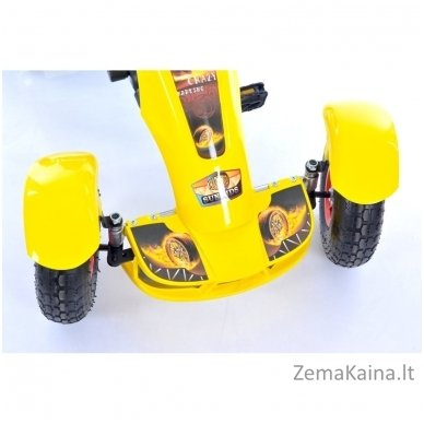 Velomobilis (Velomobile) Go-Kart F618 Yellow 4