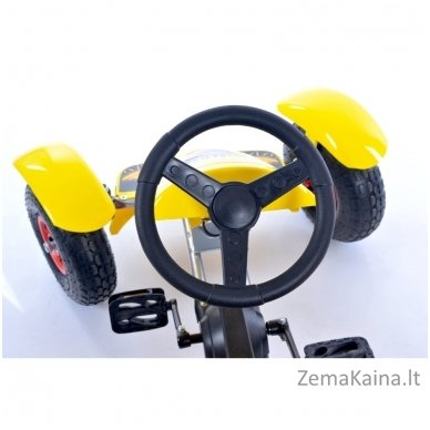 Velomobilis (Velomobile) Go-Kart F618 Yellow 5