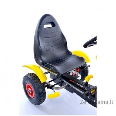 Velomobilis (Velomobile) Go-Kart F618 Yellow 3