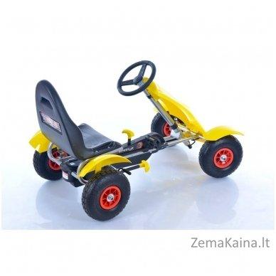 Velomobilis (Velomobile) Go-Kart F618 Yellow 2