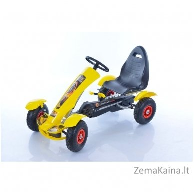 Velomobilis (Velomobile) Go-Kart F618 Yellow