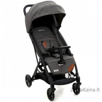 Vežimėlis Coto Baby Riva Linen Grey
