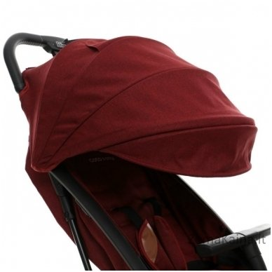 Vežimėlis Coto Baby Riva Linen Red 5