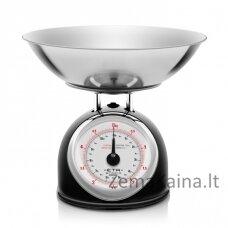 Virtuvinės svarstyklės ETA577790020 Storio, juodos spalvos