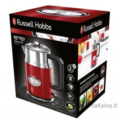 Virdulys RUSSELL HOBBS 21670-70 Retro Ribbon Red 2