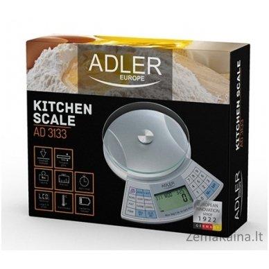 Virtuvinės svarstyklės ADLER AD 3133 3