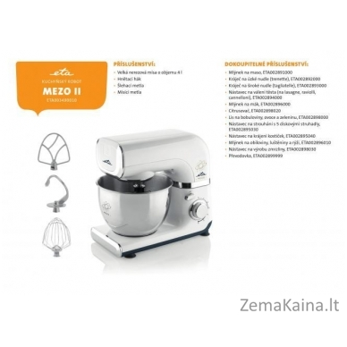 Virtuvinis kombainas ETA003490010 MEZO II Smart, 600 W galia 3