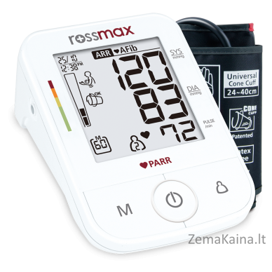 Kraujospūdžio matuoklis ROSSMAX X5 2