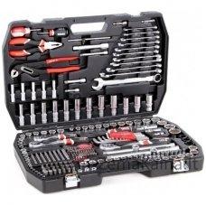 YATO YT-3894 Galvučių, replių, raktų ir kitų įrankių XXL komplektas 224 dalių