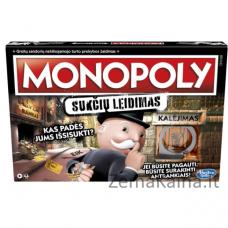 """Žaidimas """"Monopolis: sukčių leidimas"""" (Lietuvių kalba)"""