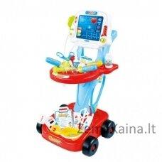 Žaislinis daktaro profesijos rinkinukas vaikams