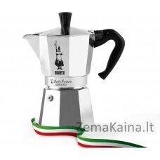 Kavavirė  Bialetti Moka 6tz + kava Nocciola 200g